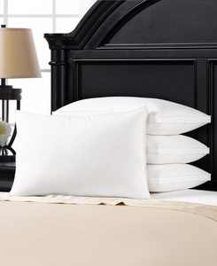 Soft Plush Gusseted Soft Gel Filled Stomach Sleeper Pillow - Set of Four - King