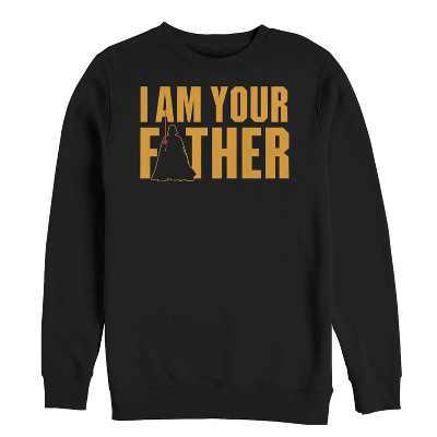 Fifth Sun Mens Star Wars Slim Fit Long Sleeve Crew Graphic Sweatshirt - Black Medium