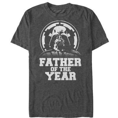 Men's Star Wars Father's Day Vader Father of the Year T-Shirt