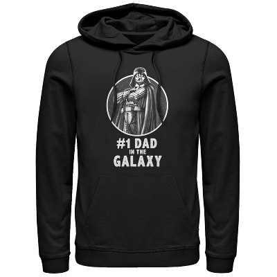 Men's Star Wars Darth Vader Best Dad Pull Over Hoodie