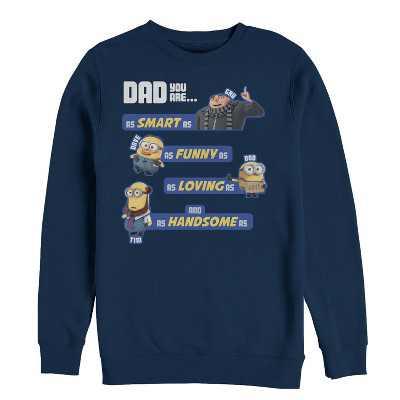 Men's Despicable Me Dad Best Qualities Sweatshirt