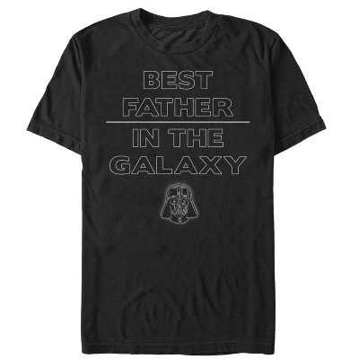 Men's Star Wars Father's Day Best Sith Father in the Galaxy T-Shirt