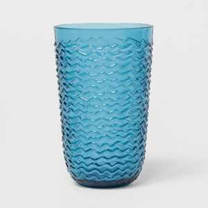 19oz Plastic Wave Texture Tall Tumbler - Opalhouse