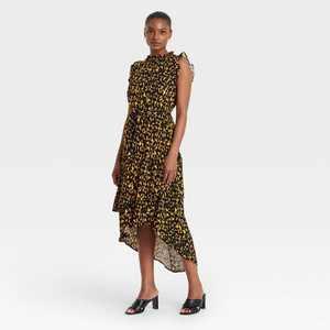 Women's Sleeveless Ruffle Dress - Who What Wear