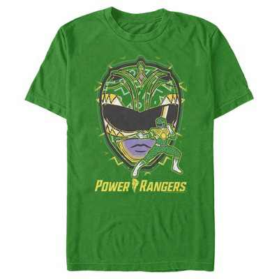 Fifth Sun Mens Power Rangers Slim Fit Short Sleeve Crew Graphic Tee - Green 3X Large
