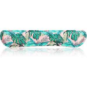 """Okuna Outpost Computer Keyboard Wrist Support Pad, Tropical Palm Leaves Office Desk Accessories 16.2"""" x 3.1"""""""