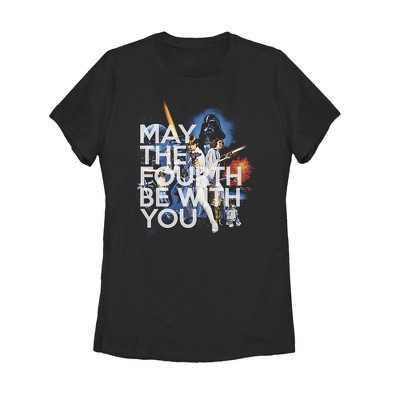 Women's Star Wars May the Fourth Classic Scene T-Shirt