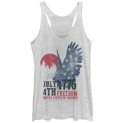 Women's Lost Gods Fourth of July  177Freedom Racerback Tank Top