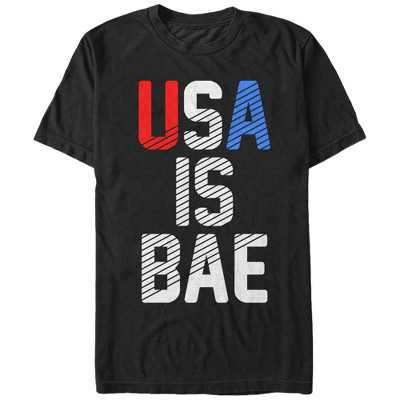 Men's CHIN UP 4th of July USA is BAE T-Shirt