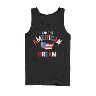 Men's Lost Gods Fourth of July  American Dream Tank Top
