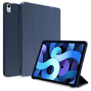 Insten - Tablet Cover Case Compatible with iPad Air 4 10.9 2020, Magnetic Auto Wake/Sleep, Soft Slim Lightweight, Dark Blue