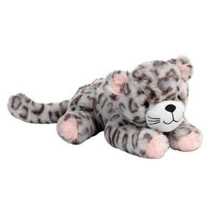 Lambs & Ivy Happy Jungle Plush Leopard Stuffed Animal Toy - Pink/Gray - Cleo