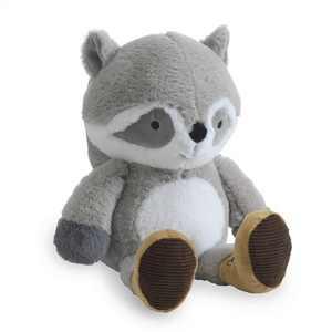 Lambs & Ivy Little Campers Plush Raccoon Stuffed Animal - Pumpkin