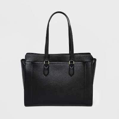 Zip Closure Tote Handbag - A New Day