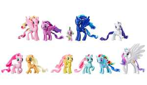 My Little Pony Toy Friends of Equestria 11 Figure Collection, Minty Pony Figure
