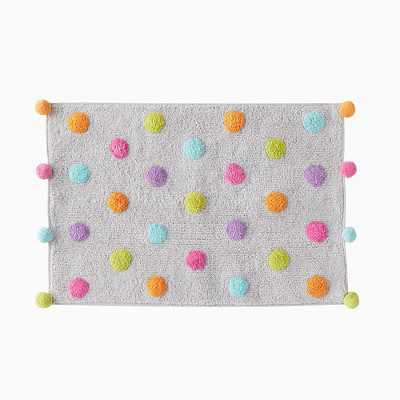 "SKL Home Confetti Colorful Circles Tufted Bathroom Rug - 30 X 20"", Multi"