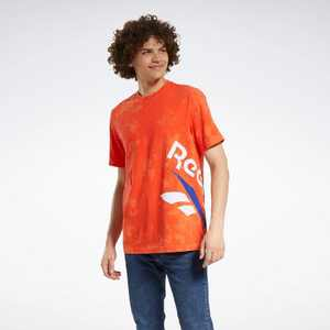 Reebok Classics Tie-Dyed Vintage Tee Mens Athletic T-Shirts