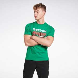 Reebok Classics Graphic Tee Mens Athletic T-Shirts