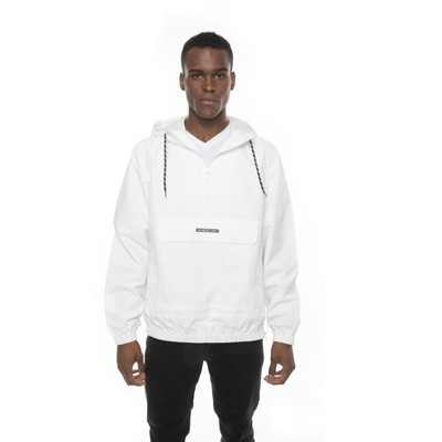 Members Only Solid Popover Jackets for Men Casual