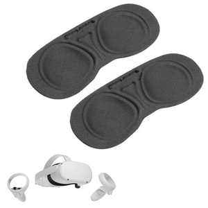 Wasserstein Lens Cover Compatible with Oculus Quest 2 (2 Pack)