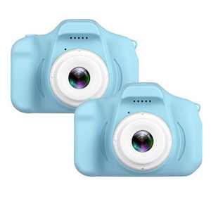 """Dartwood Digital Camera for Kids and Children - 2"""" Color Display Screen 1080p 3-Megapixels, Micro-SD Card Slot (32GB SD Card Included) (2 Pack)"""