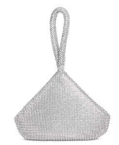 INC Doris Sparkle Mesh Pouch, Created for Macy's