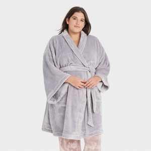 Women's Plus Size Cozy Robe - Stars Above