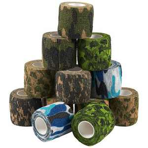 Juvale 12 Pack Self Adhesive Bandage Wraps, Cohesive Tape, Camouflage Pattern, 2 In x 5 Yard