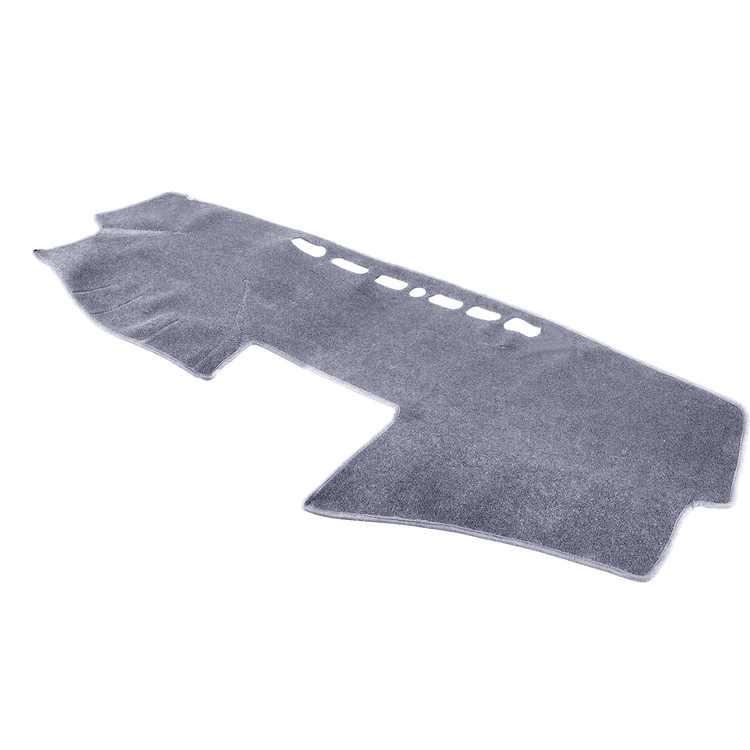 TSV DashMat Carpet Cover for Toyota Camry 2007-2011, Car Dashboard Pad Dash Cover Mat for 2007-2014 Chevy Silverado/ Tahoe/ Suburban - Premium Carpet Non-Slip, Grey