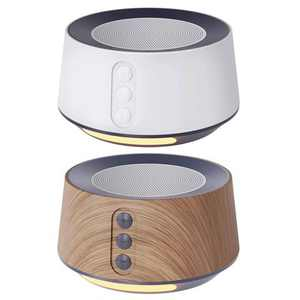 Letsfit White Noise Machine with Adjustable Night Light for Sleeping 4 High Fidelity Sleep Machine Soundtracks, Timer and Memory Feature T126L