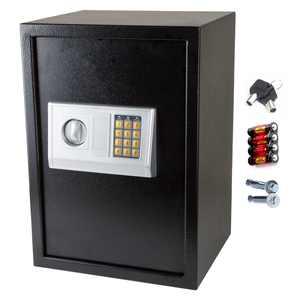 Zimtown Large Digital Electronic Safes Safe Box, Keypad and Key Lock