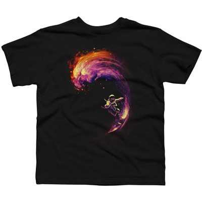 Space Surfing Boys Graphic T-Shirt - Design By Humans