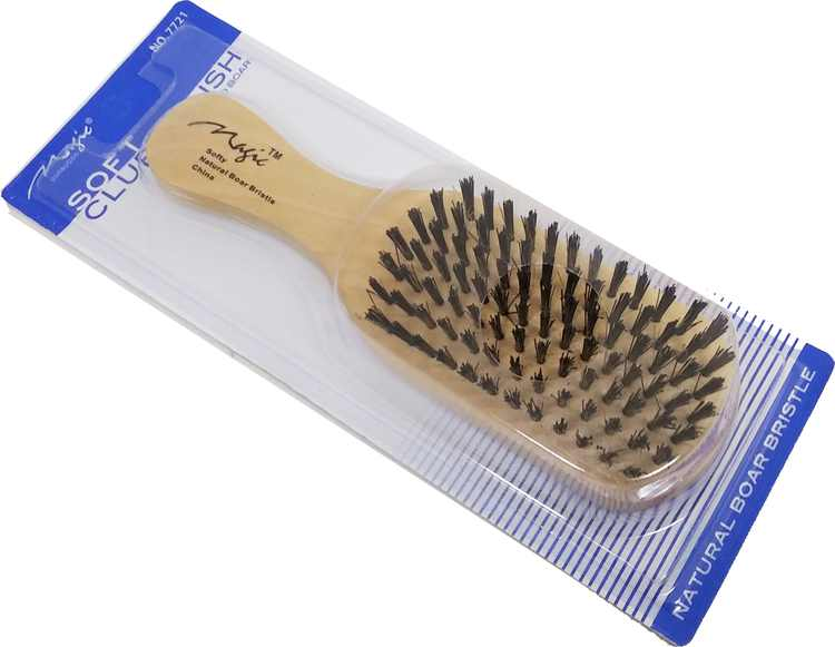 """Magic Collection Soft Club Brush [Natural - 7""""]"""