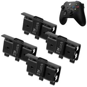 Wasserstein 700mAh Controller Battery Packs and Charging Cable for Microsoft Xbox Wireless Controller 2020 Model (Xbox Series X/S, Xbox One) (4 Pack)