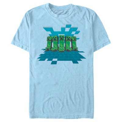 Men's Minecraft Creeper Mob T-Shirt