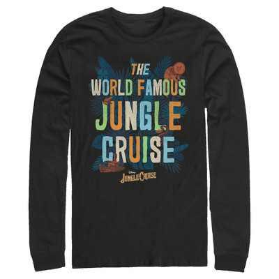 Men's Jungle Cruise The World Famous Logo Long Sleeve Shirt