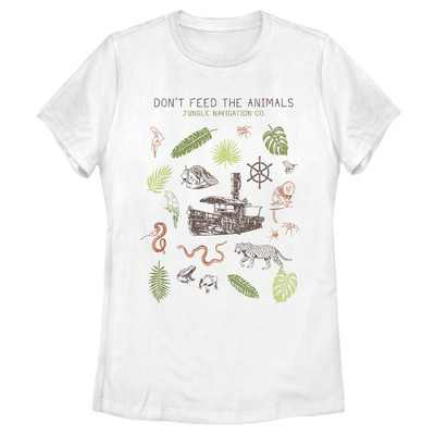 Women's Jungle Cruise Don't Feed The Animals T-Shirt
