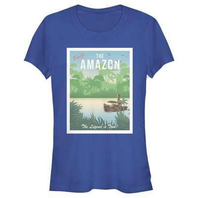 Junior's Jungle Cruise Visit the Amazon T-Shirt
