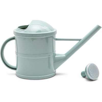 Farmlyn Creek Plant Watering Can with Handle for Indoor & Outdoor Garden, Mint Green Plastic (3 Qt)