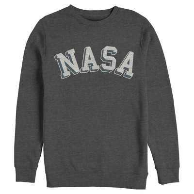Men's NASA Curved 3D Bold Logo Sweatshirt