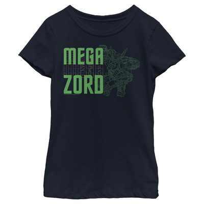 Girl's Power Rangers Megazord Schematics T-Shirt