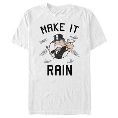 Men's Monopoly Pennybags Make It Rain T-Shirt