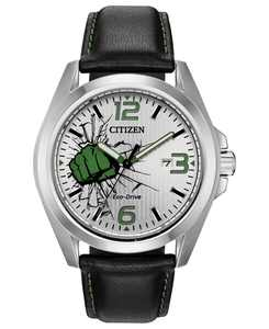 Eco-Drive Men's Hulk Black Strap Watch 45mm