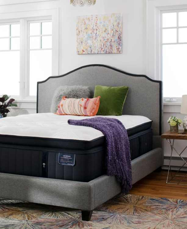 """Estate Cassatt 16"""" Luxury Ultra Plush Euro Pillow Top Mattress Set - Queen"""