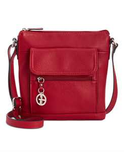 Pebble Leather Crossbody, Created for Macy's