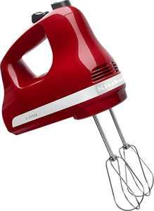 KitchenAid - KHM512ER 5-Speed Hand Mixer - Empire Red