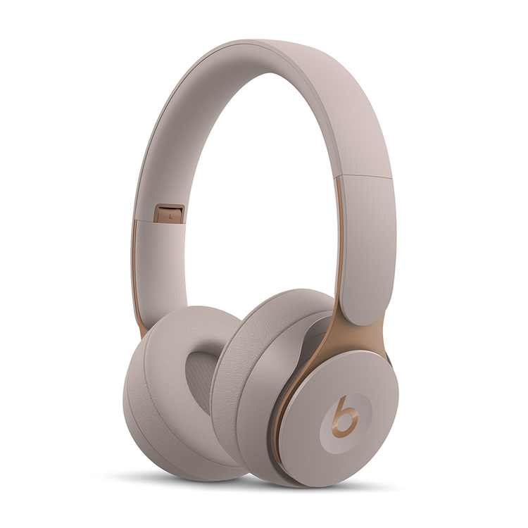 Beats Solo Pro Wireless Noise Cancelling On-Ear Headphones with Apple H1 Headphone Chip - Grey