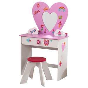 KidKraft Love, Diana Heart Vanity Toy Set