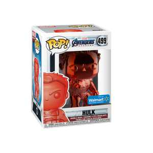 Funko POP! Marvel: Avengers Endgame - W2 - Hulk (Red Chrome) (Walmart Exclusive)