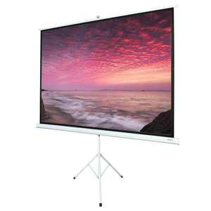 Leadzm 100 INCH 4:3 HD Portable Pull Up Projector Screen Home Theater Stand Tripod